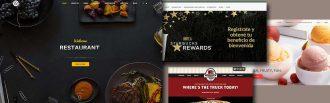 sitios web de gastronomia