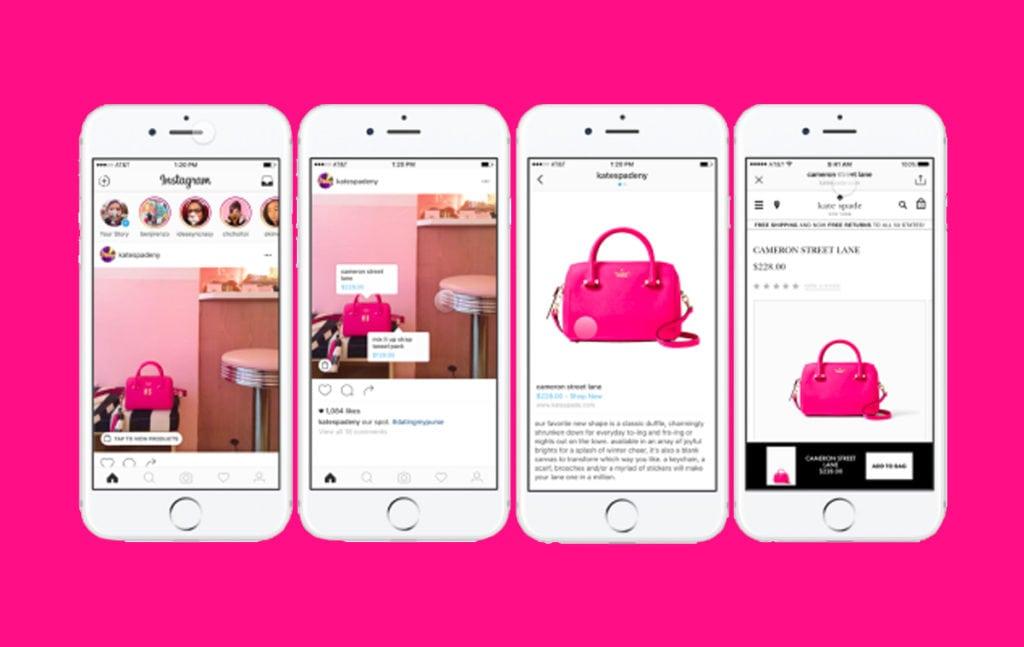 ventajas de instagram shopping