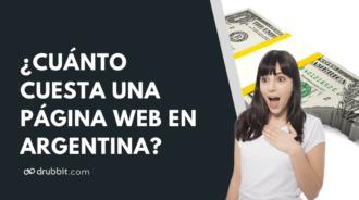 precio de página web